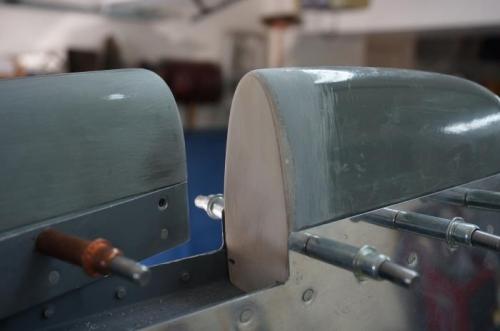 Vertical stabilizer tip closeout