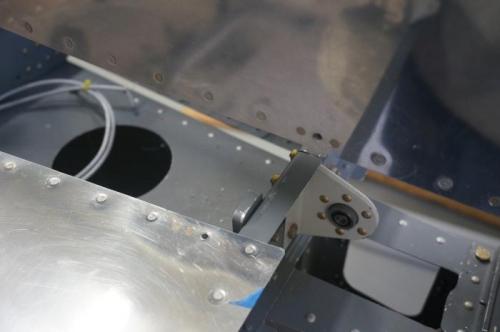 Nut plates installed