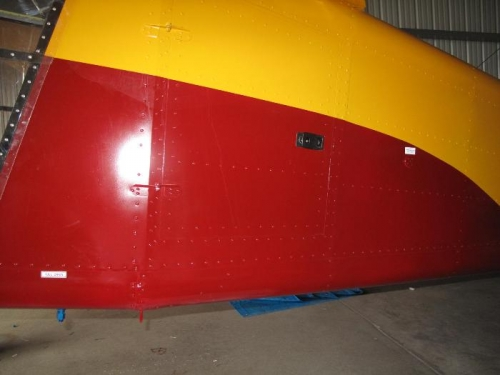 Fuel drain and static vent decals