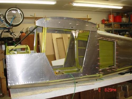 Cabin and cargo door