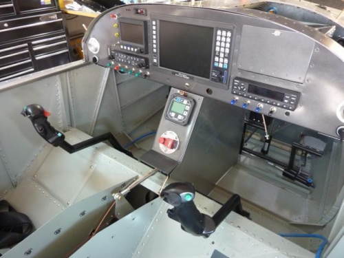 Side panel for the center console