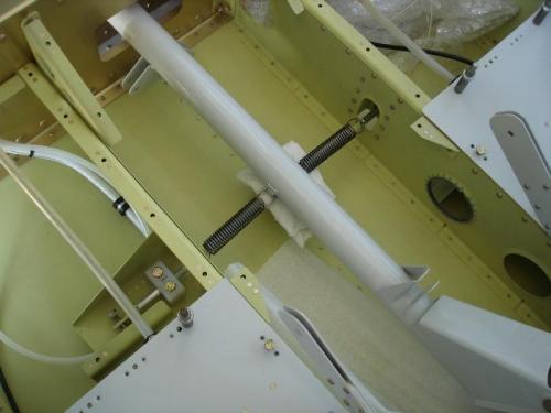 Manual aileron trim