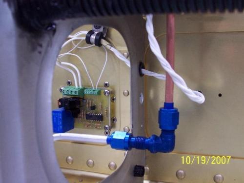 Aluminum Pitot line install