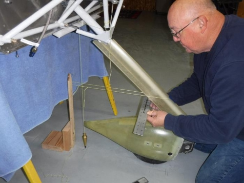 Aligning Fairing with Acft Center