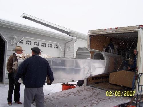 Helpers were John Reid and Pat Hamper
