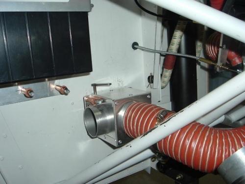 Cabin heat box.