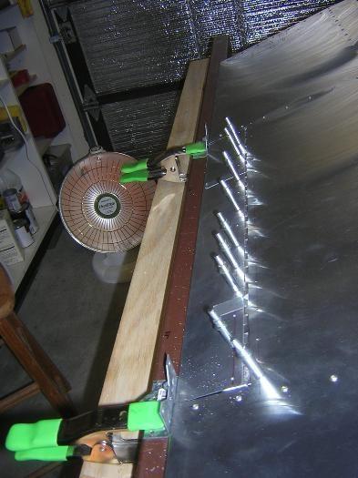 Drilling hinge to aileron