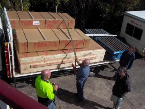 750kgs of goodies