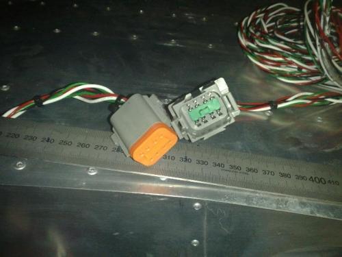Plug pulled apart
