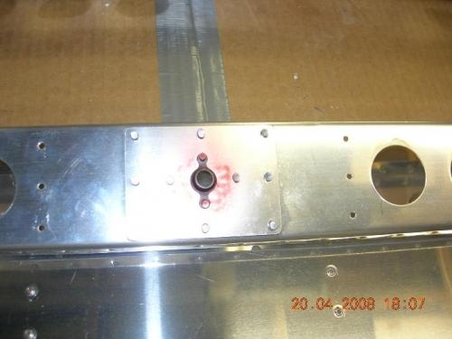 Reinforcement plates on Spar