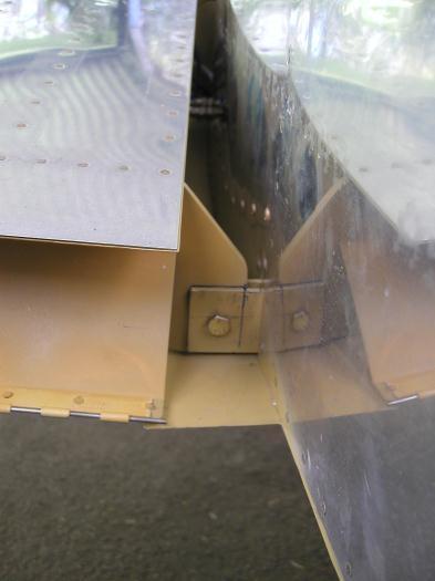Left rear spar drilled