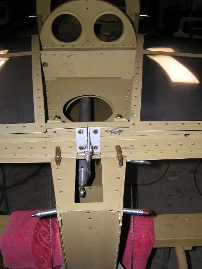 Rear verticals drilled
