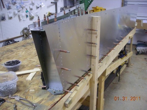Right Rear of rear fuselage