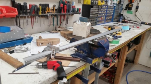Creating skin bending clamps