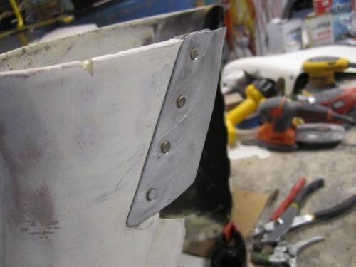 Flanges repaired