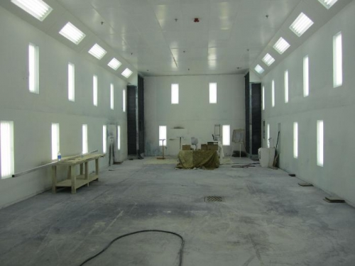 Big paint booth