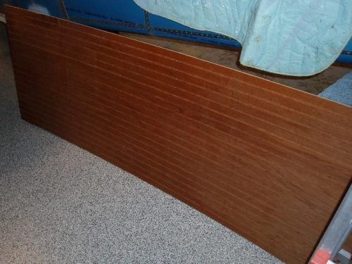 Wood Paneling for the back