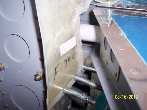 1/4 inch clearance of elevator