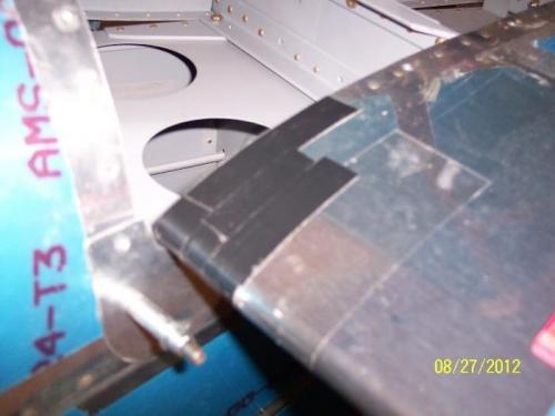 Black tape put on HS
