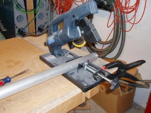 Cut push rod to length
