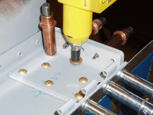 Use steel tube & washer  to raise gun a bit