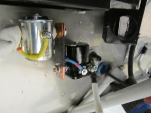 Alternator cable to stator