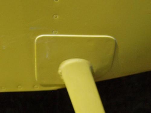 Flush Rivets on Step