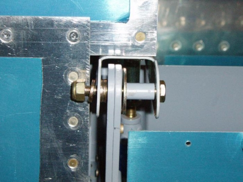 Left Inboard hinge per drawing