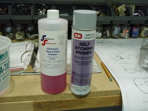 Cleaner and Primer