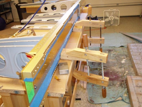 Plenty of clamps so I could push