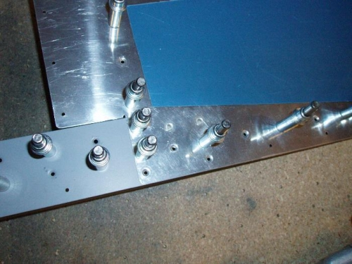 Notice two hidden rivets replaced with flush not pulled