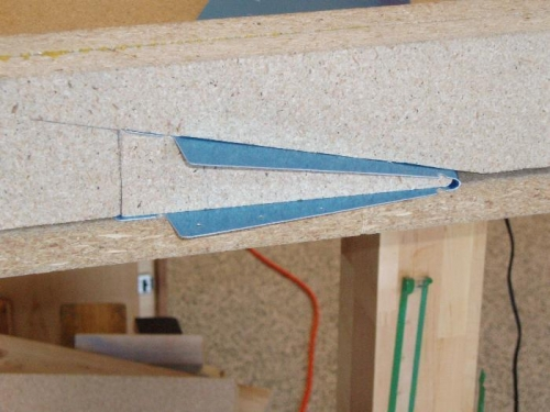 Cut Blocks from Particle Board
