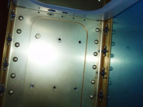 Outboard bolt holes line up