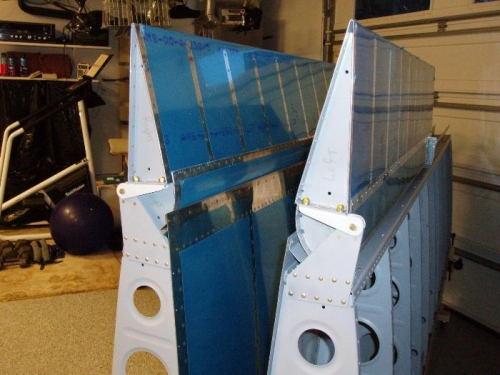 Both Ailerons done except installation