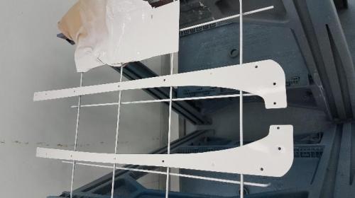 White moldings
