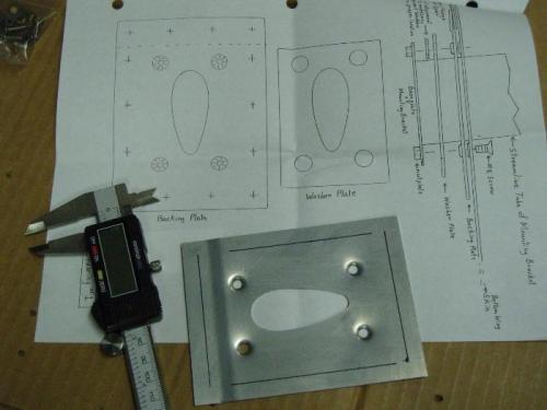 Establish rivet patter