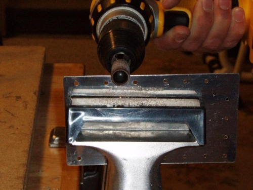 1/2 sanding drum makes perfect cut out