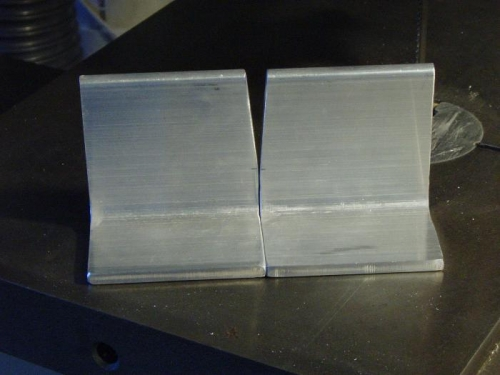 Cut and polished on scotchbrite
