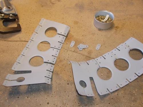 Stiffner pieces