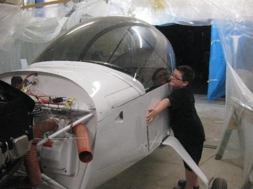 It's ok to LOVE Dads plane, isn't it?