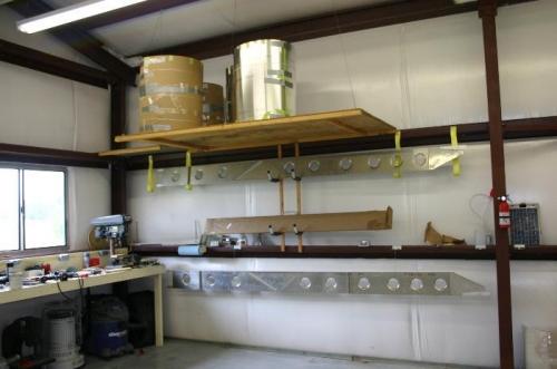 Wing spar & Skin Storage