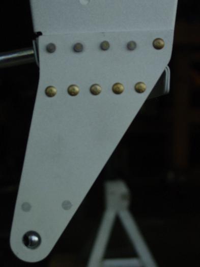 Left outbd aileron bracket