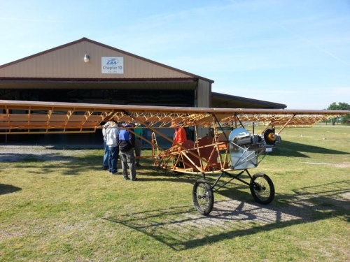 On Display for Learn To Fly Day 2014