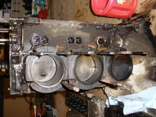Hole In Top (left) Piston
