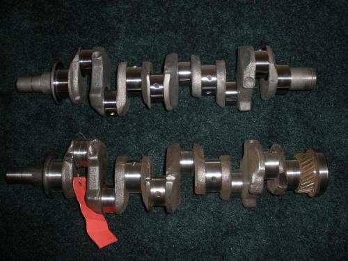 Rework (top) Original Broken Shaft (bottom)