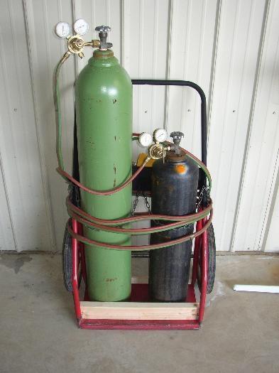Gas Welding Rig