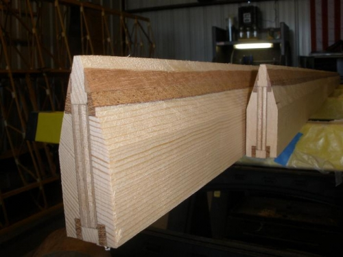 Table Saw cut made... whew!