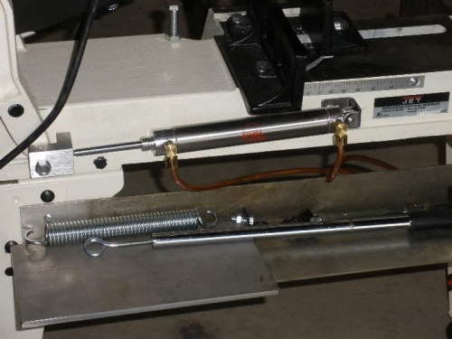 New Bimba Hydraulic Cylinder