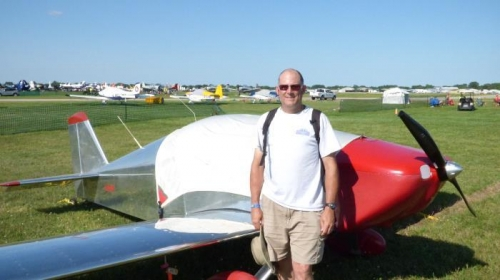 3rd time flying to Airventure
