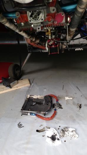 No more bottom oil cooler!